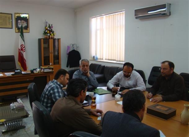 جلسه ستاد انتخابات شهرستان بشرويه