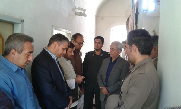 بازديد فرماندار از اردوهاي جهادي طرح هجرت 3