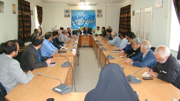 جلسه برنامه ريزي راهپيمايي روز جهاني قدس و برگزاري نماز عيد سعيد فطر